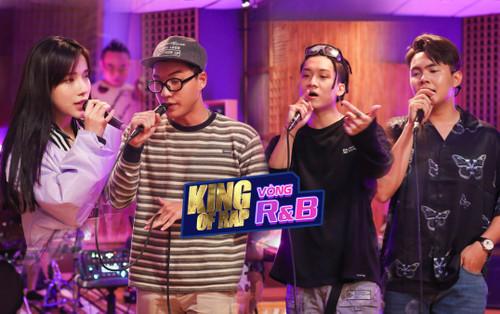 King Of Rap 2020: Hot boy HIEUTHUHAI kết hợp với Lyly, Dablo cộng hưởng Andiez giành vé vào Top 5