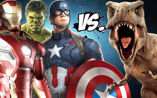 Khủng long bạo chúa chính là... siêu anh hùng đầu tiên của vũ trụ Marvel