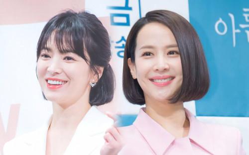 Song Hye Kyo và nữ hoàng phim 18+ Jo Yeo Jeong tiết lộ tình bạn từ thời trung học