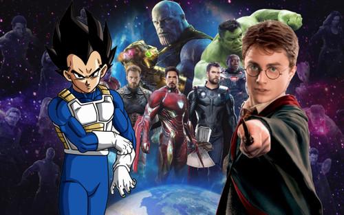 Harry Potter, Vegeta và những nhân vật nổi tiếng từng xuất hiện trong vũ trụ Marvel và DC (P.1)
