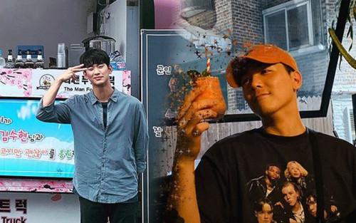 Lee Hong Ki gửi quà ủng hộ Kim Soo Hyun và phim 'Điên thì có sao'