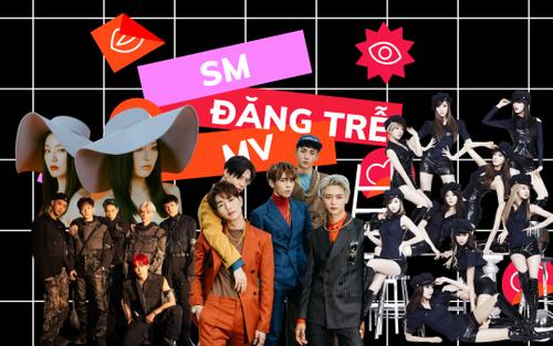 24 lần SM Ent lỡ 'ngủ quên' trước giờ MV của nghệ sĩ ra mắt