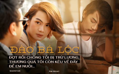 Đào Bá Lộc: 'Đợt rồi chồng tôi bị trừ lương, thương quá tôi còn kêu về đây để em nuôi...'