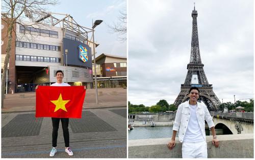 Đoàn Văn Hậu khoe ảnh check-in Paris nhưng dân tình lại chỉ trích vì điều này