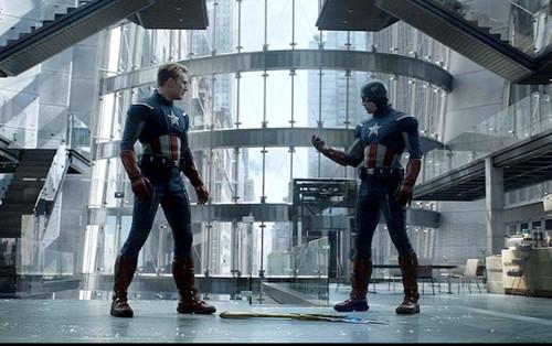 Tiết lộ clip hậu trường của trận đánh giữa 2 Captain America trong Avengers: Endgame