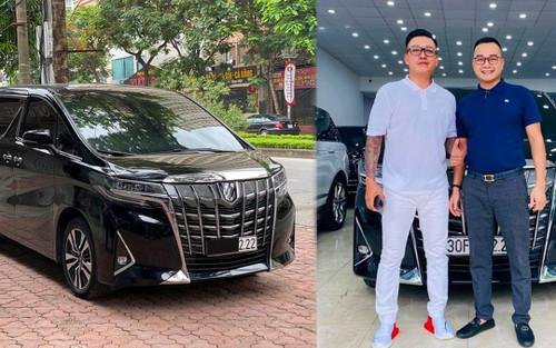 Sau tuyên bố giải nghệ, Tuấn Hưng tậu 'chuyên cơ mặt đất' bạc tỉ Toyota Alphard