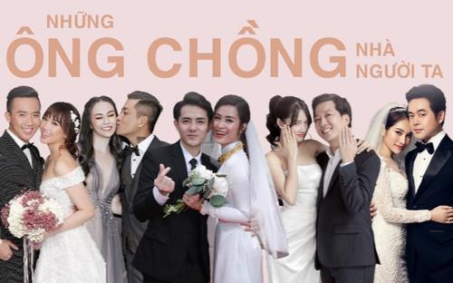 Những đức ông chồng 'yêu vợ, nghiện nhà' trong showbiz Việt: Đâu là mối tình đáng ngưỡng mộ nhất