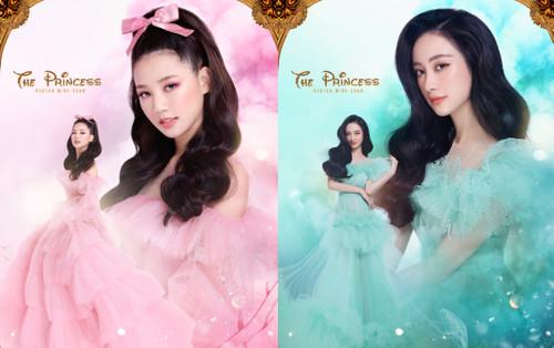 Jun Vũ, Amee hoá công chúa lộng lẫy, toàn các mỹ nhân nổi tiếng trong cổ tích