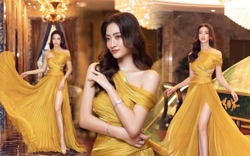 Lương Thùy Linh tung váy đẹp mắt khoe chân dài 1m22, diện trang sức tinh tế nhưng giá khủng đến 1.3 tỷ