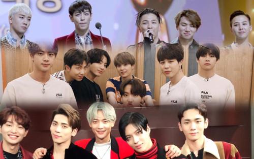 75 bài hát của nhóm nhạc nam đỉnh nhất mọi thời đại: BTS áp đảo Bigbang, SHINee và DBSK