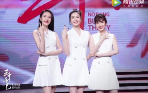 Giang Sơ Ảnh, Đồng Dao, Mao Hiểu Đồng cùng nhảy múa, cả ba khiến khán giả ngưỡng mộ chỉ vì điểm này
