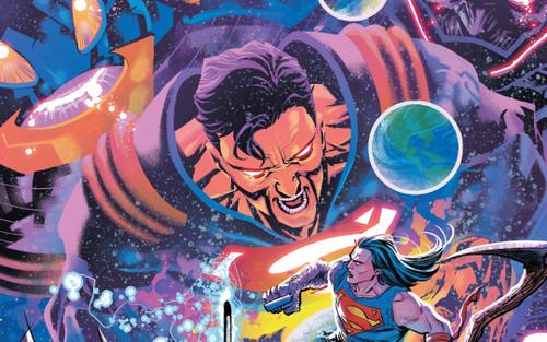 Superboy-Prime sẽ... đấm nhau với Darkest Knight ở cuối sự kiện DEATH METAL
