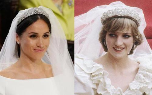 Vì sao Meghan từ chối đội vương miện của mẹ chồng trong ngày cưới?