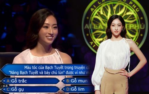 Lương Thùy Linh là hoa hậu Việt Nam đầu tiên dám thử thách trí tuệ với gameshow Ai là triệu phú