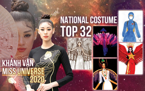 Thiết kế tự hào Việt Nam chống Covid-19, 'Lisa Cai Lậy' lọt Top 32 Trang phục dân tộc Khánh Vân