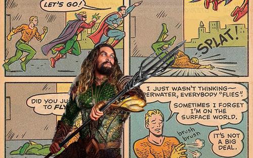DC Comics: Siêu anh hùng Aquaman thực ra có thể bay?