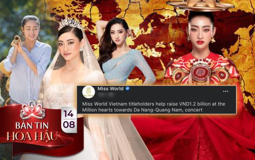 Miss World khen ngợi hoa hậu Lương Thùy Linh góp phần ủng hộ thiện nguyện 1.2 tỷ đồng