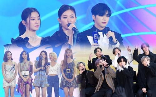 Người chiến thắng 'SOBA 2020': BTS nhận Daesang, Kang Daniel - TWICE và Red Velvet ôm về nhiều cúp lớn