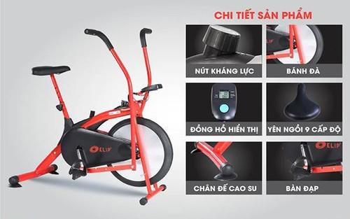 Nên mua xe đạp tập thể dục của hãng nào?