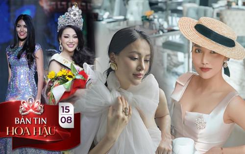 Lan Khuê - Phương Khánh đẹp kiêu kỳ xứng danh 'nữ vương' Miss World - Miss Earth Việt Nam