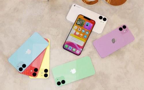 Cận cảnh iPhone 12 đẹp nhức nhối với 7 phiên bản màu máy khác nhau