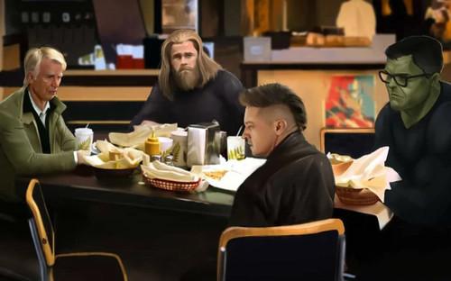 Đội hình Avengers khi mất đi Black Widow và Iron Man: Món Shawarma liệu có còn ngon?