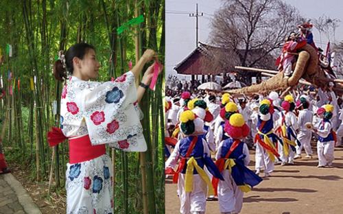 Nét thú vị trong Lễ Thất Tịch ở một số quốc gia châu Á