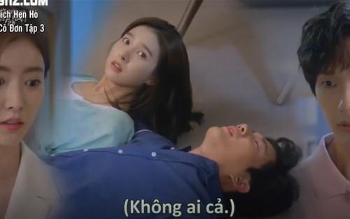 Lonely Enough To Love tập 3: Kim So Eun gây thương nhớ cho cả bốn chàng trai ở nhà chung Happy Together