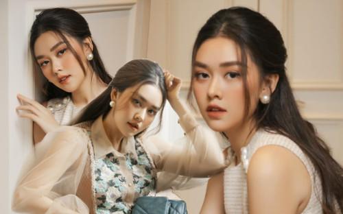 Á hậu Tường San hóa nàng thơ mùa thu xinh đẹp chỉ nhờ kiểu tóc đơn giản