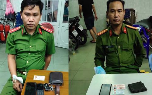 Bắt 2 đối tượng giả danh Cảnh sát hình sự đến nhà dân đọc lệnh bắt người