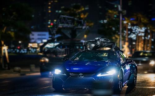 Nhìn lại siêu xe Lexus đẹp chất ngất từng gắn liền với Black Panther