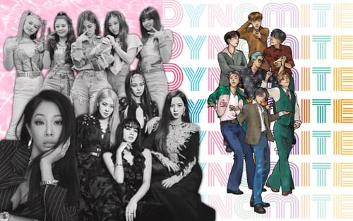 BTS cùng lúc cho BlackPink, ITZY và Jessi 'hít khói' với combo thành tích mới từ Dynamite