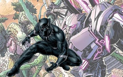 Black Panther suýt nữa đã có robot Báo Đen khổng lồ?
