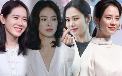 Top 20 nữ diễn viên Hàn hot nhất tháng 8: Kim Hyun Joo - Son Ye Jin bỏ xa Song Hye Kyo