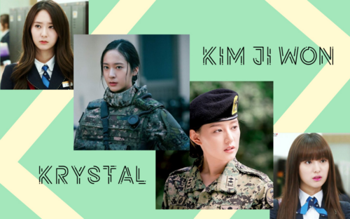 Khi hai tiểu thư The Heirs dắt tay nhau vào trong quân ngũ: Krystal soái tỷ hết nấc, Kim Ji Won gây điên đảo khắp màn ảnh Châu Á