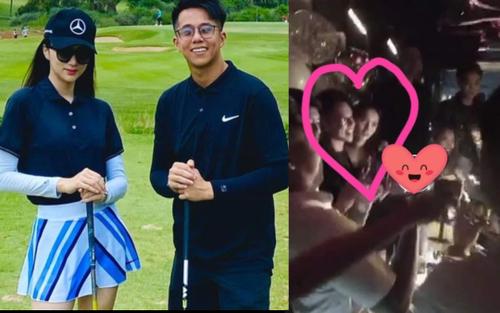 Không công khai chụp chung, Hương Giang - Matt Liu vô tình lộ khoảnh khắc thân mật ở tiệc sinh nhật qua góc chụp của fan