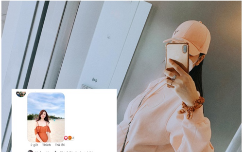 Kỳ Hân khoe bụng bầu 7 tháng, antifan liên tục bình luận hình bạn gái cũ và con riêng của chồng