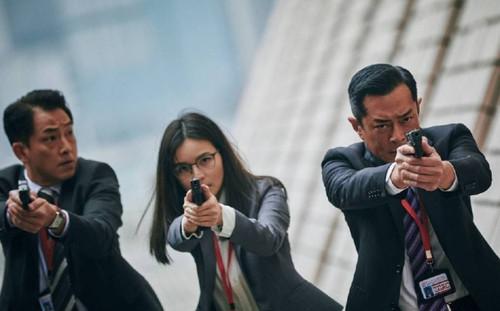 Phim điện ảnh 'G Phong bạo' của Cổ Thiên Lạc, Trương Trí Lâm và dàn sao TVB khác tung ảnh mới cực chất