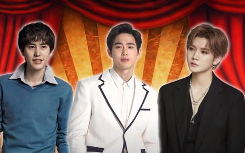 Knet gọi tên idol tạo ấn tượng mạnh mẽ khi lấn sân nhạc kịch: Suho (EXO), Ren (Nu'est) hay Kyuhyun (Super Junior)?