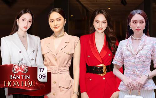 Hương Giang khiến fan mê đắm với style 'nữ chủ tịch' thanh lịch vẫn thừa quyến rũ, ngọt ngào