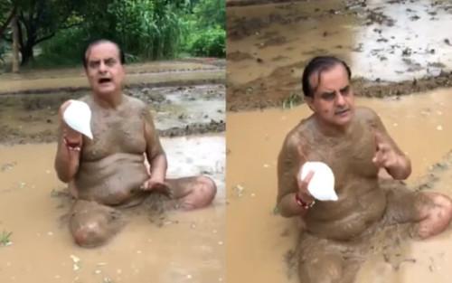 Vừa khẳng định 'tắm bùn và thổi vỏ ốc sẽ ngăn được COVID-19', chính trị gia Ấn Độ nhận kết quả dương tính với virus
