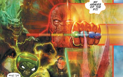 Vũ trụ DC: Darkseid gia nhập Quân đoàn Green Lantern của Đa vũ trụ Tối