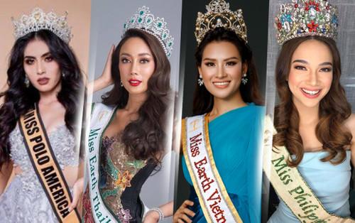 Dàn mỹ nhân nổi bật nhất Hoa hậu Trái đất phiên bản Online: Đại diện Việt Nam có làm nên chuyện?