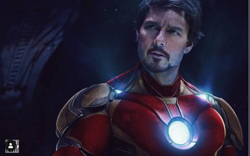 Tom Cruise với bộ giáp Iron Man, xuất hiện trong Doctor Strange phần 2
