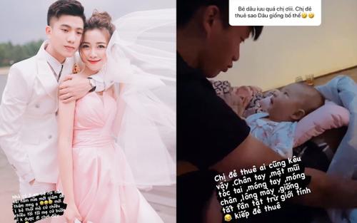 Vừa sinh con gái đầu lòng, bà xã Phan Văn Đức tiết lộ kế hoạch sinh con thứ hai, 'than thở' về kiếp đẻ 'thuê'