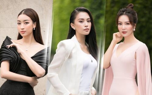 Tiểu Vy diện vest đẹp thanh lịch, giám khảo Đỗ Mỹ Linh - Thụy Vân sắc sảo tìm Tân Hoa hậu Việt Nam