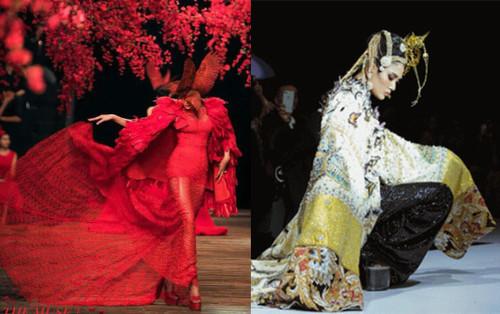 Võ Hoàng Yến và những pha xử trí tài tình trên sàn catwalk xứng danh siêu mẫu số 1 Việt Nam
