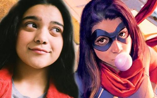 Nữ diễn viên trẻ Iman Vellani bất ngờ giành được vai diễn Ms. Marvel trong MCU