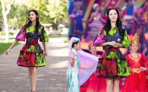 Mắc lỗi thời trang, Địch Lệ Nhiệt Ba 'mất điểm' trầm trọng so với Angelababy, Đường Yên