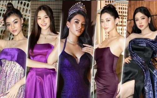 6 nàng hậu 2k họp mặt: Tiểu Vy - Lương Thùy Linh sắc sảo, Tường San - Phương Nga kiều diễm hơn người
